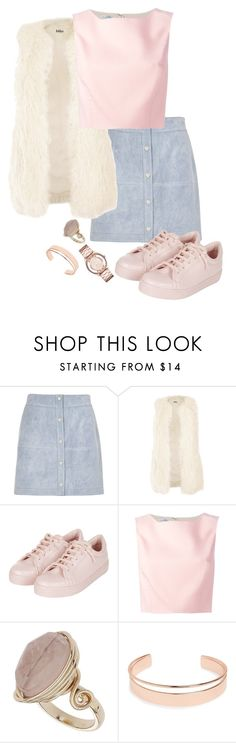 """Untitled #221"" by lauralovefashion1 ❤ liked on Polyvore featuring River Island, Jakke, Topshop, Oscar de la Renta, Leith and Marc by Marc Jacobs"