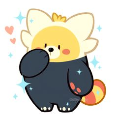 "fluffysheeps: ""My shiny Bewear is soft and pure and I want to protect her """