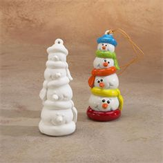 GARE BISQUE ORNAMENT SNOW PILE - Ceramic Arts