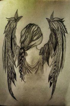 Sad Drawings, Dark Art Drawings, Tattoo Drawings, Body Art Tattoos, Sleeve Tattoos, Jessica Rabbit Tattoo, River City Tattoo, Mystical Tattoos, Tarot Tattoo