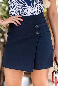 Shorts Saia Valentina