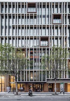 OHLA HOTEL EIXAMPLE by Isern Associats