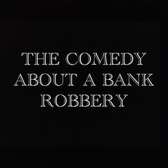 Our profile of The Comedy About A Bank Robbery currently showing at the Criterion Theatre http://www.westendtheatreguide.london/shows/the-comedy-about-a-bank-robbery/