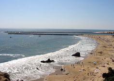 beach at Corona Del Mar, CA