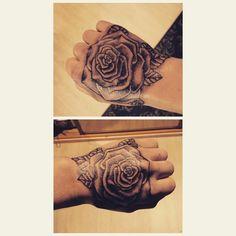 Just got my first tattoos last month! 😊 #hands #tattoo