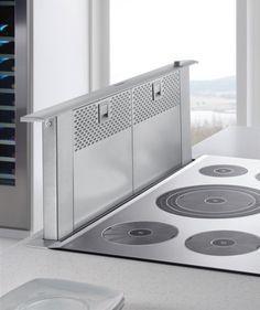 Downdraft Ventilation for Cooktops & Stovetops