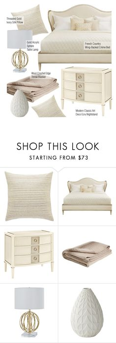 """Bedroom Decor"" by kathykuohome ❤ liked on Polyvore featuring interior, interiors, interior design, home, home decor, interior decorating, bedroom, modern, bedroomdecor and modernclassic"