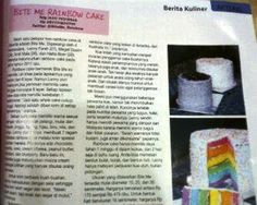 First Time BiteMe Appearance in Mass Media, Majalah Sedap sajiansedap.com