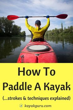 Paddling can be easy. Or hard. We have put together a quick guide to explain some of these techniques and give you some tips on how to improve your paddling strokes. Including: How To Hold Your Paddle and Paddling Strokes Explained: Forward Stroke Sweep Stroke Reverse Stroke Draw Stroke Kayak For Beginners, Kayaking Tips, Camping And Hiking, Canoeing, Tandem, Outdoor Fun, Outdoor Activities, Paddle, Improve Yourself