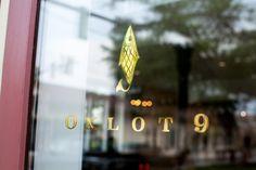 Oxlot 9 restaurant branding