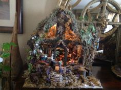 Fairy houses by Fairyhousesofpeyton on Etsy, $500.00