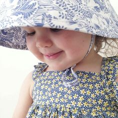 Miss Millie... a million heart eyes for you  how sweet is she in her Tilly bucket hat? Just love this print suits everyone and every outfit... gotta love that   @milliemummymelbourne #acornkids #kidshats #hats #sunhats #kidssunhats #summmerhats #beachhats #summer #kidsfashion #kidsaccessories #accessories #girlsfashion #cutekids #outfitinspiration #sunsmart #tillybuckethat