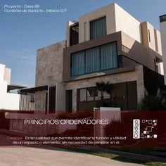 Casa SS / Principios Ordenadores / Carácter