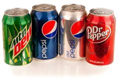 Collection of Soda Cans: Mountain Dew, Pepsi, Diet Pepsi, Dr. Clean Drink, Soft Drink, Diet Dr Pepper, Diet Pepsi, Fanta Can, Drinking Quotes, Mountain Dew, Caffeine, Good To Know