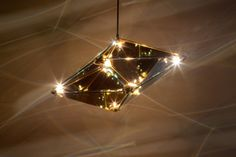 Roll & Hill Bec Brittain Maxhedron pendant light reflexions