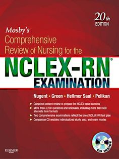 64 best study guides aides images on pinterest study guides for mosbys comprehensive review of nursing for the nclex rn examination fandeluxe Choice Image