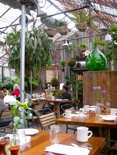 Greenhouse cafe (Cafe at Terrain).