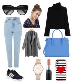 """free time in love"" by sosweetdarlin on Polyvore featuring Topshop, adidas, Chloé, Furla, Kate Spade, ASOS and ROSEFIELD"