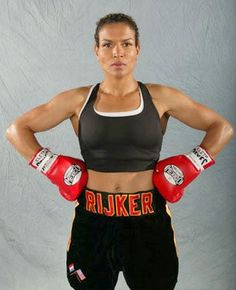 """Lucia Rijker - """"The Most Dangerous Woman in the World""""    boxing... omg! She's Helena's cell mate from the L word! <3"""