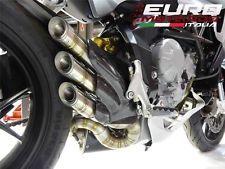 MV Agusta F3 675 800 Silmotor Exhaust Silencer Stainless Steel Snake Design