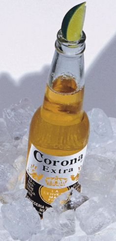 An ice cold beer to quench my thirst on a hot day. Ahhh...