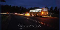 Acidente envolve coletivo e dois automóveis em cima de viaduto - http://projac.com.br/noticias/acidente-envolve-coletivo-e-dois-automoveis-em-cima-de-viaduto.html
