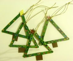 A Homeschool Journey: Preschool Christmas Crafts