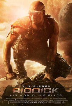Riddick 27x40 Movie Poster (2013)