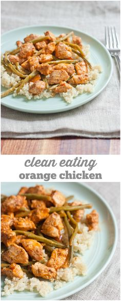 Clean Eating Orange Chicken