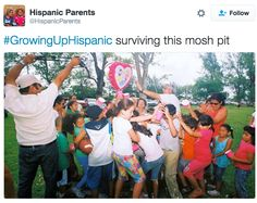 Piñata struggles: | 31 Tweets About Growing Up Hispanic That Will Make You Laugh Every Time