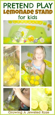 Set up a pretend play lemonade stand in the bath for loads of fun and sensory… Sensory Activities Toddlers, Sensory Play, Activities For Kids, Sensory Table, Diy For Kids, Cool Kids, My Bebe, Kids Bath, Dramatic Play