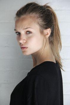 "runwayandbeauty: "" Josephine Skriver - New polaroids 2014 | The Society managment. """