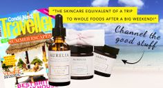 Channel the good stuff with Aurelia Skincare as featured in Conde Nast Traveller! Brittany, Whiskey Bottle, Whole Food Recipes, Essential Oils, Channel, Skincare, Good Things, Skin Care, Skin Treatments