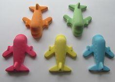 Airplane Chalk : Set of Five