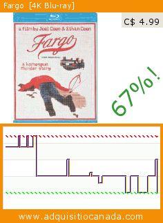 Fargo  [4K Blu-ray] (Blu-ray). Drop 67%! Current price C$ 4.99, the previous price was C$ 15.00. https://www.adquisitiocanada.com/mgm/fargo-bilingual-4k-blu