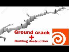 Houdini fx 16 ground crack tutorial 2017 || Houdini fx 16 building destructon tutorial 2017 - YouTube