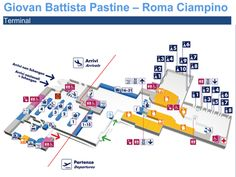 The Map Of Intercity Leonardo Express Trains Public - Rome map with airports