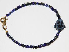 Beaded Buddha Bracelet - Layering/Stackable