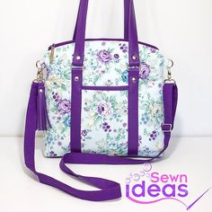 cb5591e334 The Sweetie Shoulder Bag - Sew and Sell ePattern. Purse PatternsDiy Bags ...
