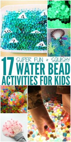 waterbead activities for kids