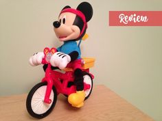 Fisher-Price Silly Wheelie Mickey toy #Review    Emma Shilton #ToyTuesday