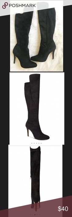 6aece3ec6392 INC International Concepts- Knee high dress boots Worn twice. Like New! INC  International