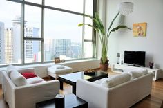 A loft in central singapore (this inspiration is a apartment in a condo in town with private lift lobby, private roof top & jacuzzi) Condo Interior Design, Interior Design Singapore, Interior Decorating, Cluster House, New Condo, New Property, Roof Top, Condos For Sale, Lofts