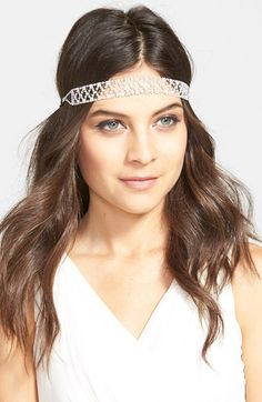 Nina Crystal Stretch Headband available at #Nordstrom
