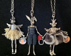 Servane Gaxotte's Fairy Tale Necklaces