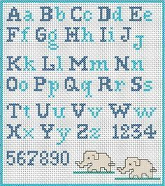 Have you decided to cross-stitch the school apron for your child? Did you find a cross-stitch alphabet pattern? If you are looking for an embroidery pattern with simple cross stitch letters, I suggest you to register now at www. Cross Stitch Letter Patterns, Cross Stitch Letters, Cross Stitch Charts, Cross Stitch Designs, Stitch Patterns, Cross Stitch Font, Crochet Alphabet Letters, Cross Stitch Numbers, Cross Stitch Bookmarks