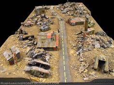 Rob Hawkins Hobby: A Blast From the Past Game Terrain, 40k Terrain, Wargaming Terrain, Orks 40k, Warhammer 40000, Airsoft, Warhammer Terrain, Tabletop Games, Post Apocalyptic