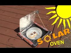 (309) Solar Oven Pizza box Experiment - Solar oven project/Solar Cooker - YouTube