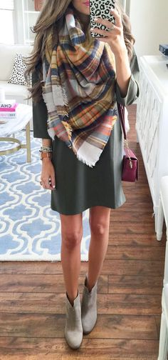 I would love to add cute fall dresses to my wardrobe! Erica M.