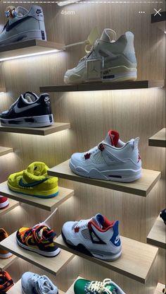 Shoe Rack, Aesthetic Shoes, Fresh Shoes, Hype Shoes, Sneakers Fashion, Fashion Shoes, Shoes Sneakers, Kicks, Trendy Shoes